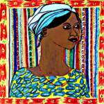 African Girl – Mixed Medium – 20in x 20in